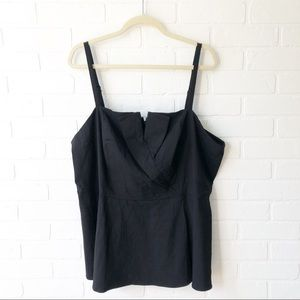 Torrid Black Tank Top 3X NWT